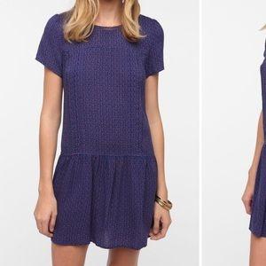 Urban Outfitters Drop Waist Dress